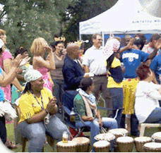 drumming party, social drumming events